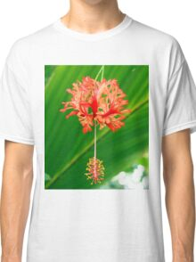Red Hanging Flower Bloom Classic T-Shirt