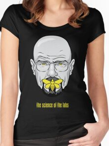 The Silence of the Labs Women's Fitted Scoop T-Shirt