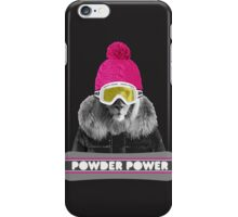 LION WINTER SPORTS iPhone Case/Skin