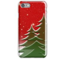 Christmas trees  iPhone Case/Skin