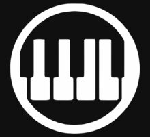 RockBand Instrument Symbol - Keyboard by Guilherme Bermêo