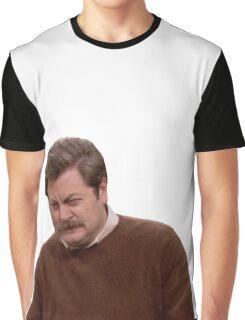 Ron Swanson Graphic T-Shirt