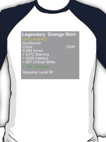 Legendary Orange Shirt T-Shirt