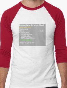 Legendary Orange Shirt Men's Baseball ¾ T-Shirt