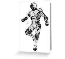 Iron Man Mark 42 Greeting Card