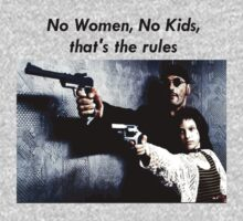 Leon and Mathilda- No women, no kids by hungrypeople