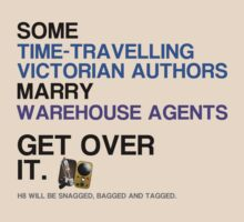 Some Victorians marry Warehouse agents Light Version. T-Shirt