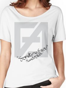 Sometimes you have to fall Women's Relaxed Fit T-Shirt