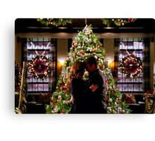 Caskett Christmas Canvas Print