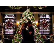 Caskett Christmas Photographic Print