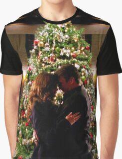 Caskett Christmas Graphic T-Shirt