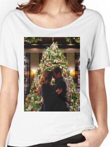 Caskett Christmas Women's Relaxed Fit T-Shirt