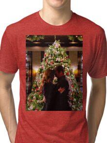 Caskett Christmas Tri-blend T-Shirt
