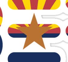 BEF Arizona Flag Sticker