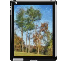Tall Trees Against A Blue Sky iPad Case/Skin