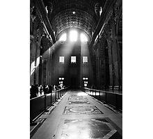 God's Light Photographic Print