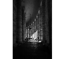 Follow the Pillars Photographic Print