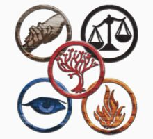 Divergent Faction symbols by DestineeLaBooty