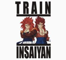 Train Insaiyan - Gogeta & Vegito by irig0ld