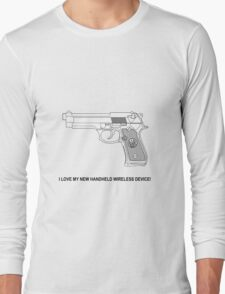 New Handheld Wireless Device Long Sleeve T-Shirt