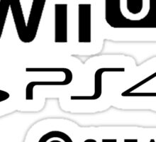 I Love All Consoles Sticker