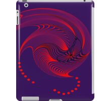 Red Spinner iPad Case/Skin