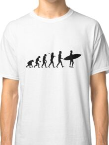 Surfing Evolution Classic T-Shirt