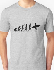 Surfing Evolution Unisex T-Shirt