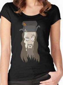Radagast the Brown Women's Fitted Scoop T-Shirt