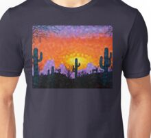 Sonoran Desert Sunset Unisex T-Shirt