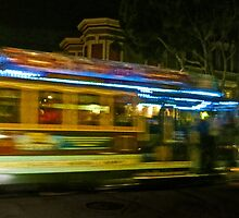 Cable Car Blur by David Denny