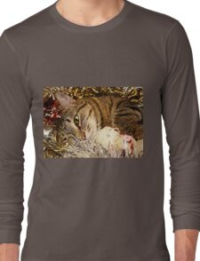 Lying cat Long Sleeve T-Shirt