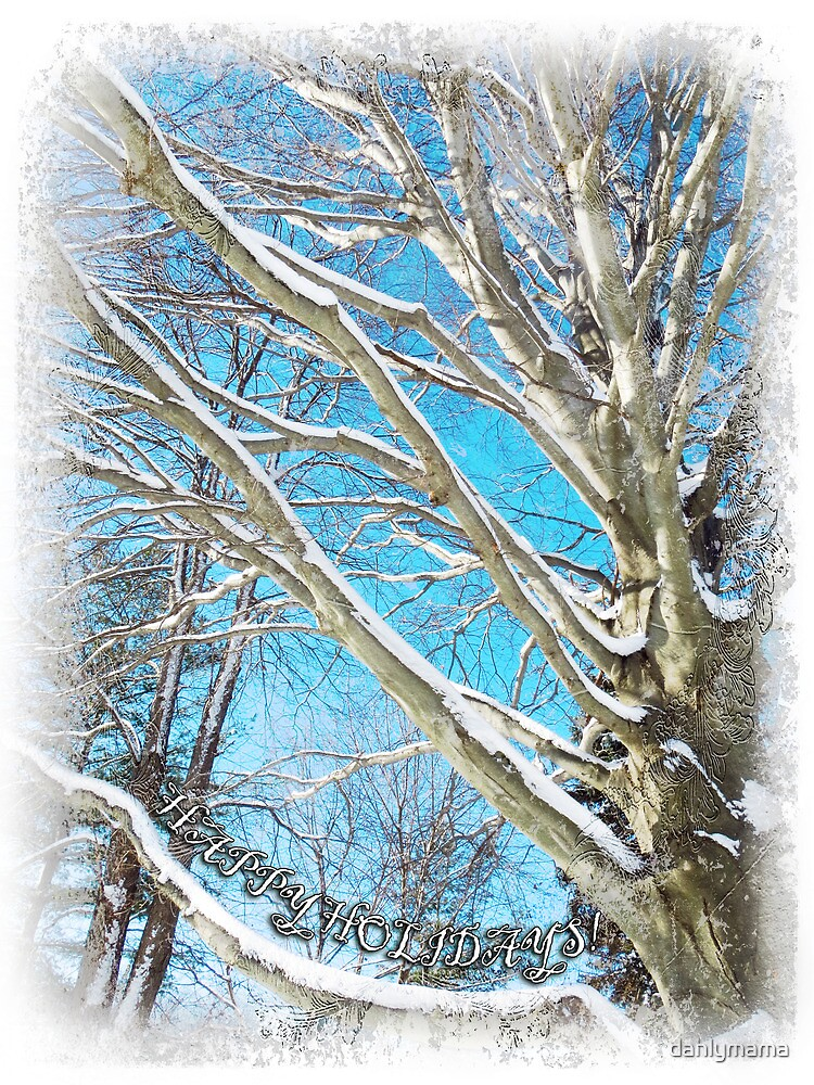 Snow Covered Holiday by Shawna Rowe