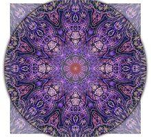 Crown Chakra Mandala 2d by haymelter