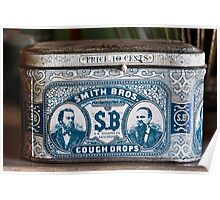 Smith's Cough Drops ... price 10c Poster