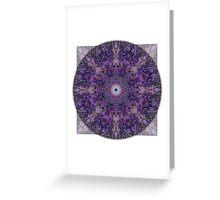 Crown Chakra Mandala 2b Greeting Card