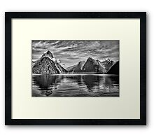 Milford Sound, New Zealand Framed Print