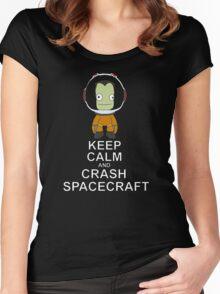 Kerbal Space Program Women's Fitted Scoop T-Shirt