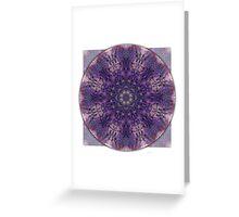 Crown Chakra Mandala 2a Greeting Card