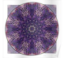 Crown Chakra Mandala 2a Poster