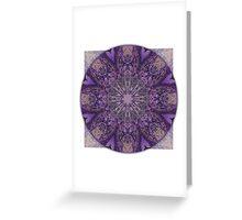 Crown Chakra Mandala 1c Greeting Card