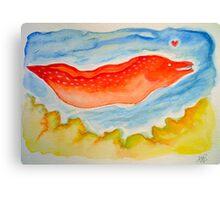 moray lover Canvas Print