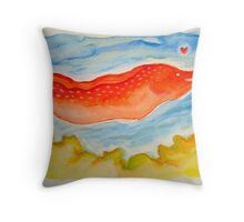 moray lover Throw Pillow