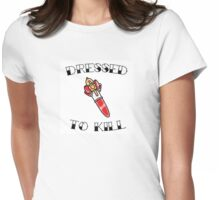 Magical Girl Series: Dressed to Kill - Fancy Lala Womens Fitted T-Shirt