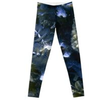 Midnight Blue Christmas Tree Worm Leggings