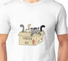 Crazy Cat Lady Starter Kit Unisex T-Shirt