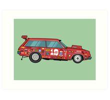 Racer Art Print