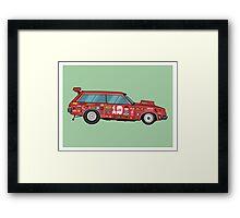 Racer Framed Print