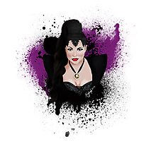 An Evil Queen Photographic Print