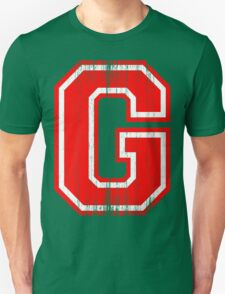 Big Red Letter G T-Shirt